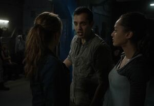 The100 S3 Wanheda Part 1 Abby Jackson Raven 2
