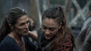 The100 S3 Wanheda Part 1 Raven Abby 2