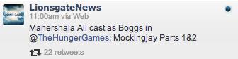 Lionsgate boggscasting