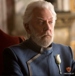 President snow mockingjay part 1