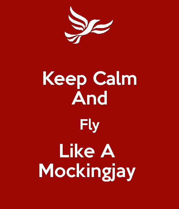 Keep calm mockinjay