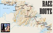 Iditarod North Route