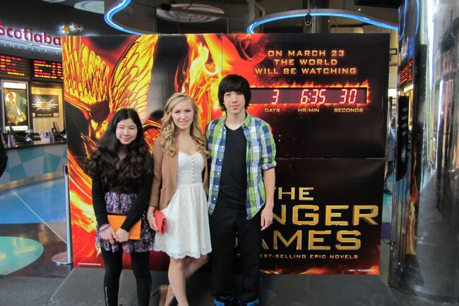 Hunger Games Premiere 5