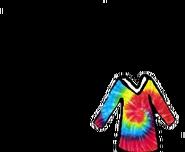 Sweater tie dye