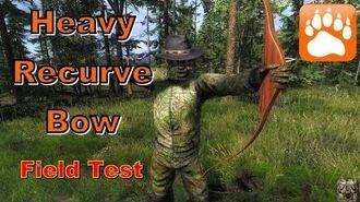 Heavy Recurve Bow Field Test theHunter 2016