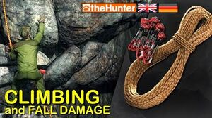 TheHunter Climbing and Fall Damage - English with German subtitles
