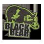 Black bear badge