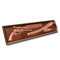 Plaque 44 bronze