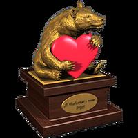 Valentine 2015 BlackBear Trophy Gold