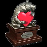 Valentine 2015 BlackBear Trophy Silver