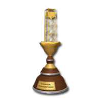 Trophy tower gold