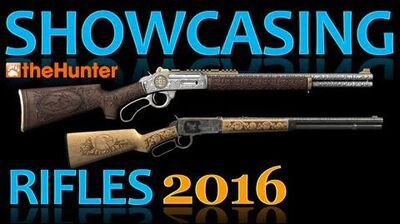 TheHunter Showcasing Rifles 2016 (Animations, Sights & Sounds)