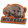 Wild boar badge