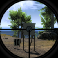 3.5x rifle scope target