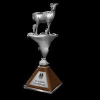 Trophy elk cow silver