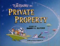 Private property title
