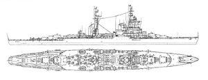 Super Sverdlov class cruiser