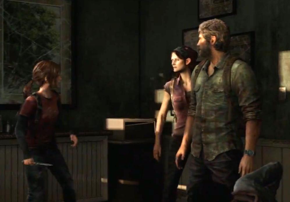 Joel and Tess meet Ellie