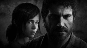 The Last of Us Black and White