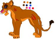 Lion 1 (adult)