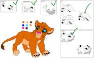 Lion 1 (cub)