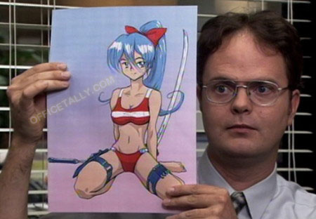 Image result for the office as an anime