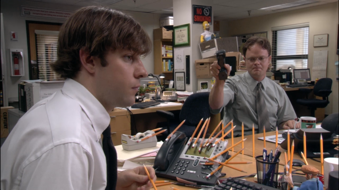 Image result for the office jim and dwight