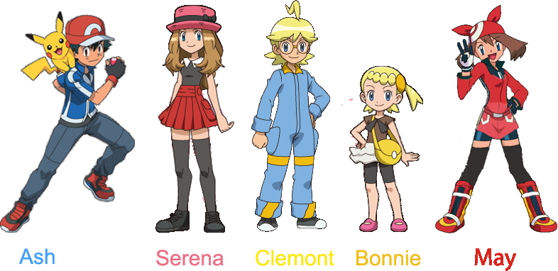 Pokemon And Y Anime Characters Names : Image personajes the pokemon fanfiction wiki