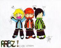 RRBZ Chibi Version x3 by ChikaBoo94-2