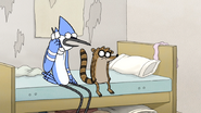 S3E34.059 Mordecai on the Phone with Dave