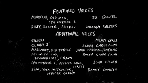 S6E15 I See Turtles Credits