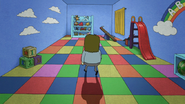 S4E35.144 Muscle Man Exploring the Play Area