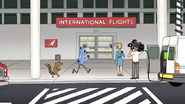 S6E13.159 Mordecai and Rigby Running Inside the Airport