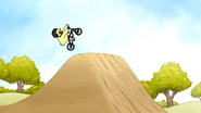 S6E24.146 Baby Duck Three Riding a BMX Bike