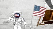 S6E21.150 American Party Horse Astronaut