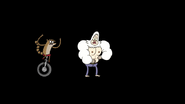 S4E25.050 Rigby on a Unicycle