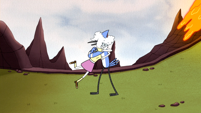 are cj and mordecai dating in regular show