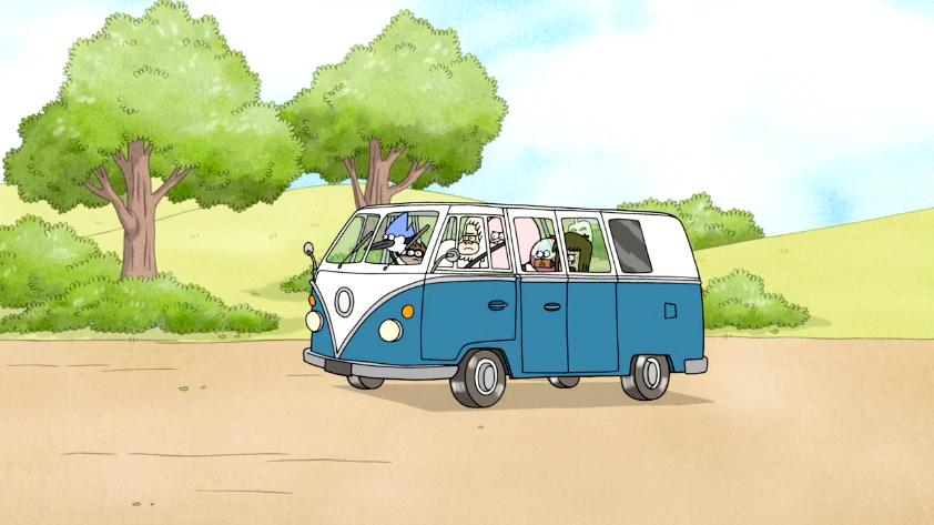 Skips His Van