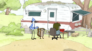 S4E24.039 Mordecai Asking Muscle Man for Help