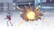 S4E36.230 Party Rob Exploding