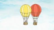 S6E25.057 Margaret and Del's Hot Air Balloon Colliding