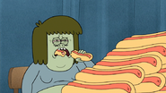 S4E34.118 Muscle Man Unable to Finish His Current Hot Dog