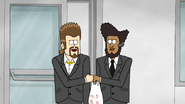 S4E36.065 Vince and Tommy Fist-Bumping