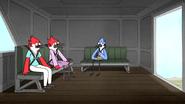S6E20.155 Mordecai, Margaret, and Denise in Chopper 6