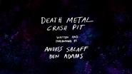S3E04 Death Metal Crash Pit Title Card V2