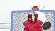 S7E02.080 Benson Destroying a Hockey Player's Head