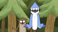 S4E32.020 Mordecai and Rigby Ready to Catch