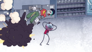 S4E36.228 Party Rob Hit by the Rocket