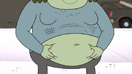 S4E34.013 Muscle Man Has Been Eating Power Lunches Lately