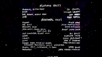 M01 Regular Show Movie Credits